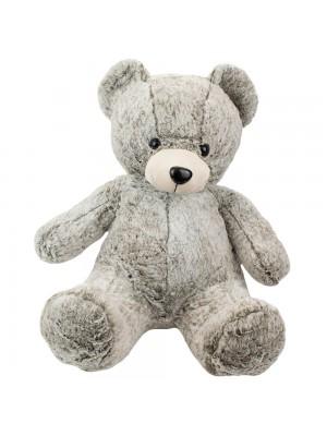 Urso Cinza Sentado 53cm - Pelúcia