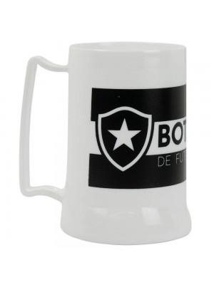 Caneca Branca Gel Isolante Térmico 400ml - Botafogo