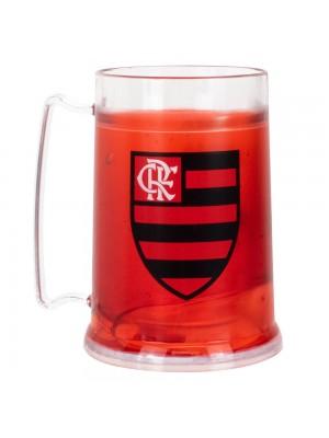99067 | Caneca Gel Isolante Térmico 300ml - Flamengo
