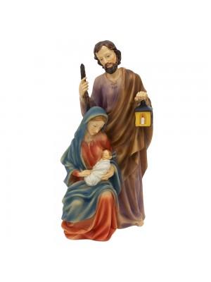 Presépio Sagrada Família 30cm - Enfeite Resina