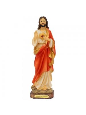 Sagrado Coração De Jesus 22.5cm - Enfeite Resina