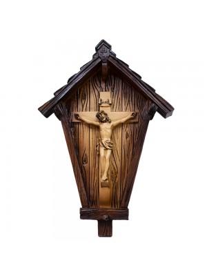 Crucifixo Casa 20cm - Enfeite Resina