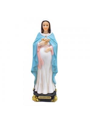 ALJE190AO-6-E | Nossa Senhora Grávida 15.5cm - Enfeite Resina