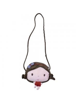 936a4b398d Boneca Bailarina Cabelo Ponytail Laranja 35cm
