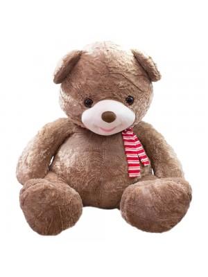 Urso Marrom Laço 94cm - Pelúcia