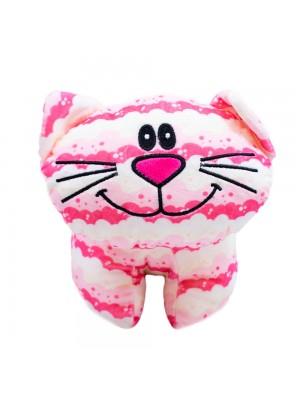 Gato Rosa Corpo Comprido 27cm - Pelúcia