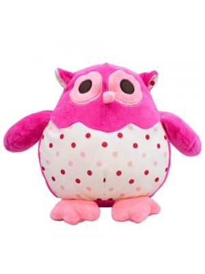 Coruja Pink 22cm - Pelúcia