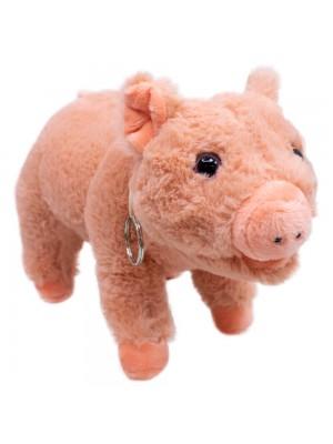 Porco Em Pé 18cm - Pelúcia