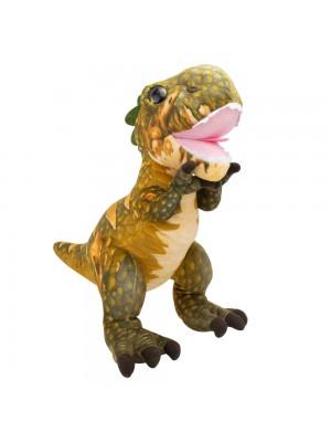 Dinossauro Verde Tiranossauro Rex 40cm - Pelúcia