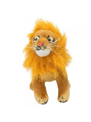 Leão Realista 22cm - Pelúcia