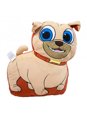 Almofada Rolly Puppy Dog Pals 40x14x37cm - Disney