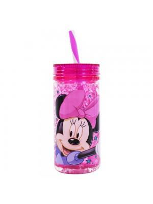 DDF8829-MK2-D | Copo Congelante Com Canudo Minnie 350ml - Disney