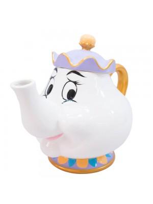 Bule 1000ml Formato Madame Samovar Bela E A Fera - Disney