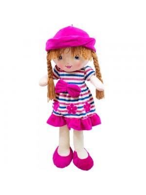 Boneca Chapéu Pink Pernas Compridas 65Cm