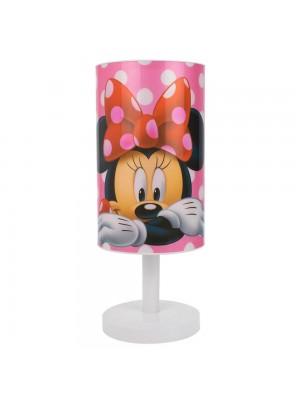 Luminária Abajur Minnie Rosa 30.5cm - Disney
