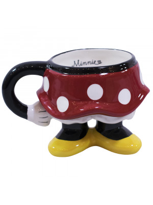 CANECA PORCELANA CORPO MINNIE - DISNEY