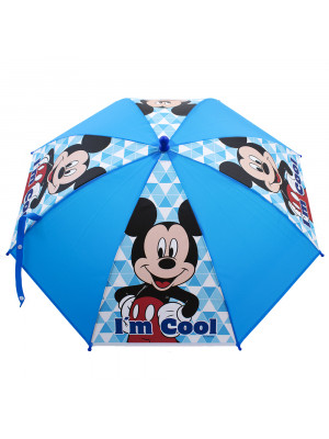 GUARDA CHUVA AZUL MICKEY - DISNEY