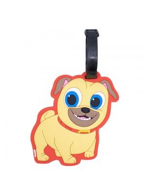 Etiqueta Para Bagagem Rolly Puppy Dog Pals 13x8cm - Disney