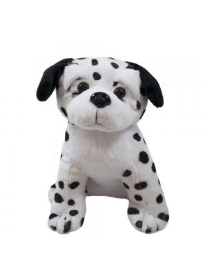 Cachorro Dálmata Sentado 30cm - Pelúcia