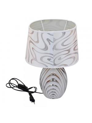 Abajur Luminária Porcelana Branco 38cm 127V