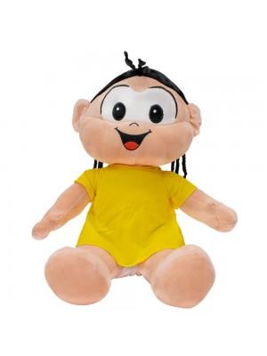 Boneca Magali Sentada 42cm - Turma Da Mônica