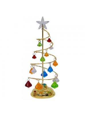 Luminária Árvore Natal 27cm