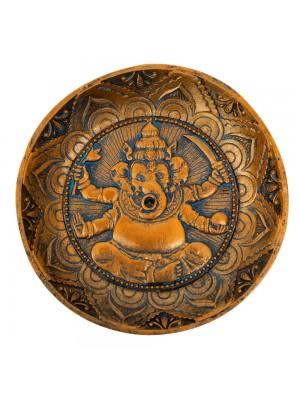 Porta Incenso Buda Ganesha 12.5x12.5cm