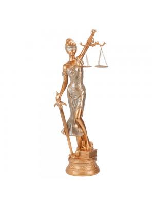 Dama Da Justiça Rosê 56cm - Enfeite Resina