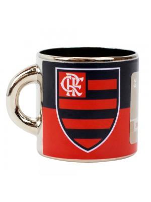 Mini Caneca Decorativa Ímã Metal 3.5cm - Flamengo