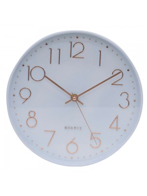 Relógio Parede Branco 25x25cm