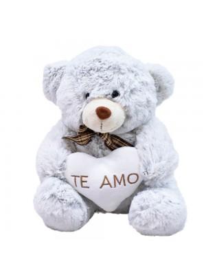 Urso Coração Te Amo 29cm - Pelúcia