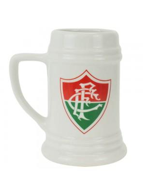Caneca Porcelana Branca 500ml - Fluminense