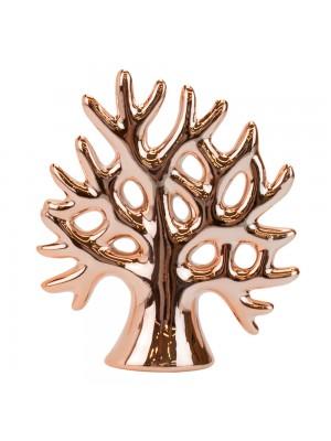 Árvore Cerâmica Rosê 10cm