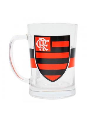 Caneca De Vidro Gigante 660ml - Flamengo