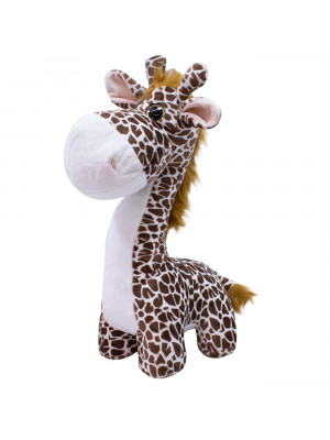 Girafa Focinho Comprido 38cm - Pelúcia