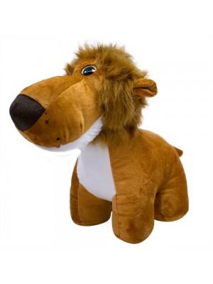 Leão Focinho Comprido 30cm - Pelúcia