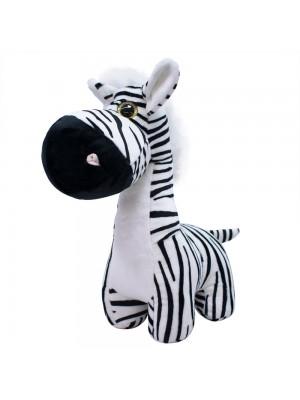 Zebra Focinho Comprido 27cm - Pelúcia
