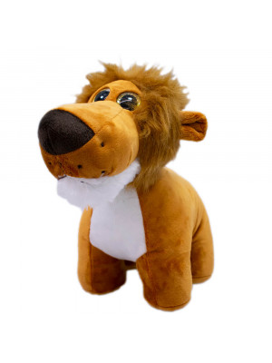 Leão Focinho Comprido 25cm - Pelúcia