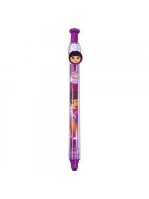 YF1016-DR1-N | Caneta Roller Pen - Dora Aventureira