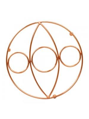 Suporte Descanso Panela Bronze 20x20cm