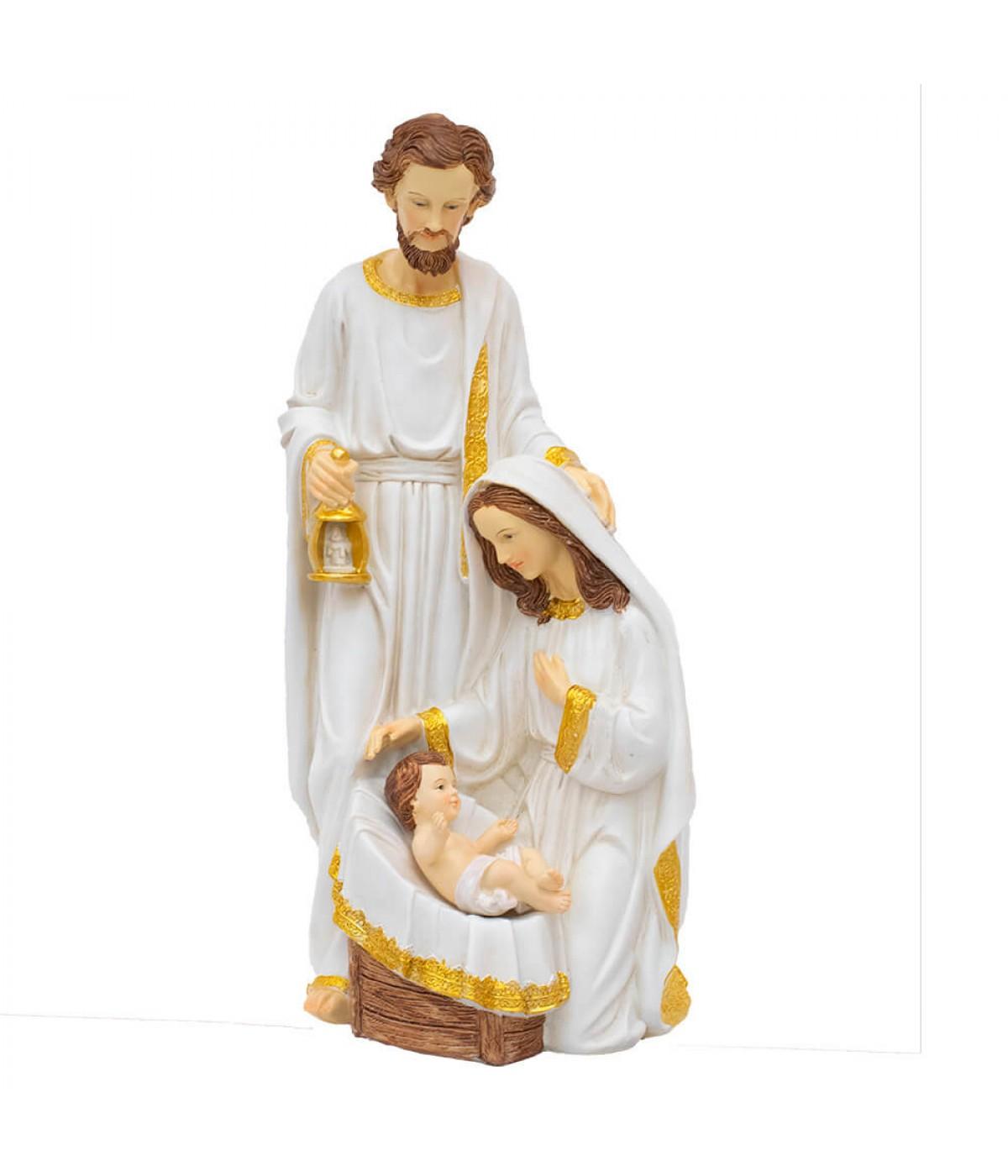 Presépio Sagrada Família 39cm - Enfeite Resina