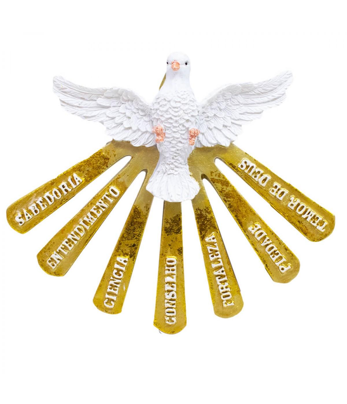 Espírito Santo 12cm - Enfeite Resina