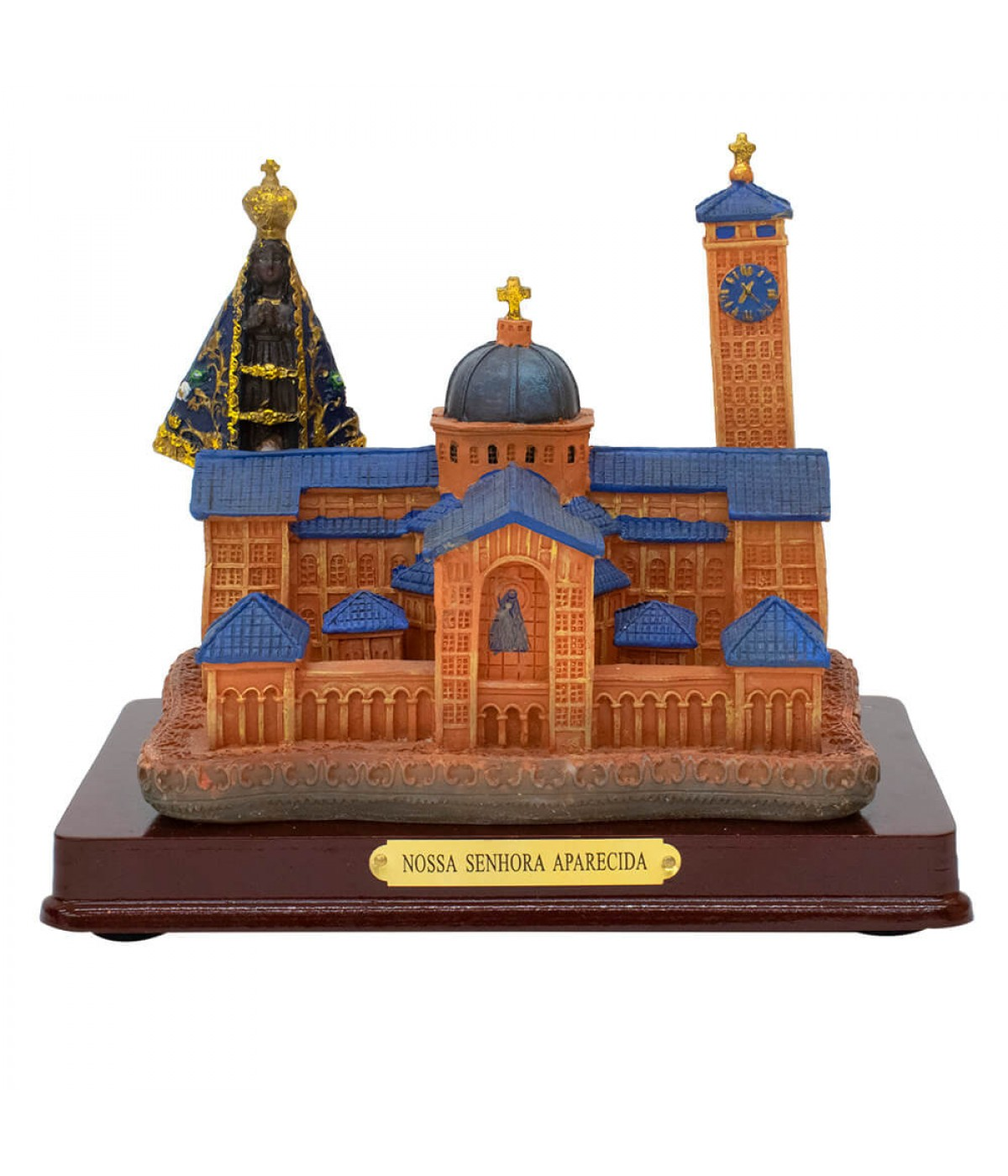Catedral Basílica De Nossa Senhora Aparecida 15x18x11,5 - Enfeite Resina
