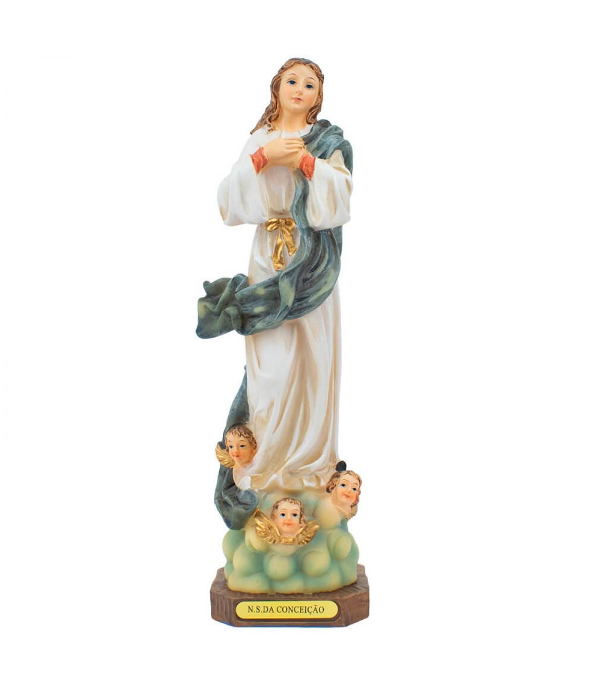 Nossa Senhora Da Conceição 22cm - Enfeite Resina