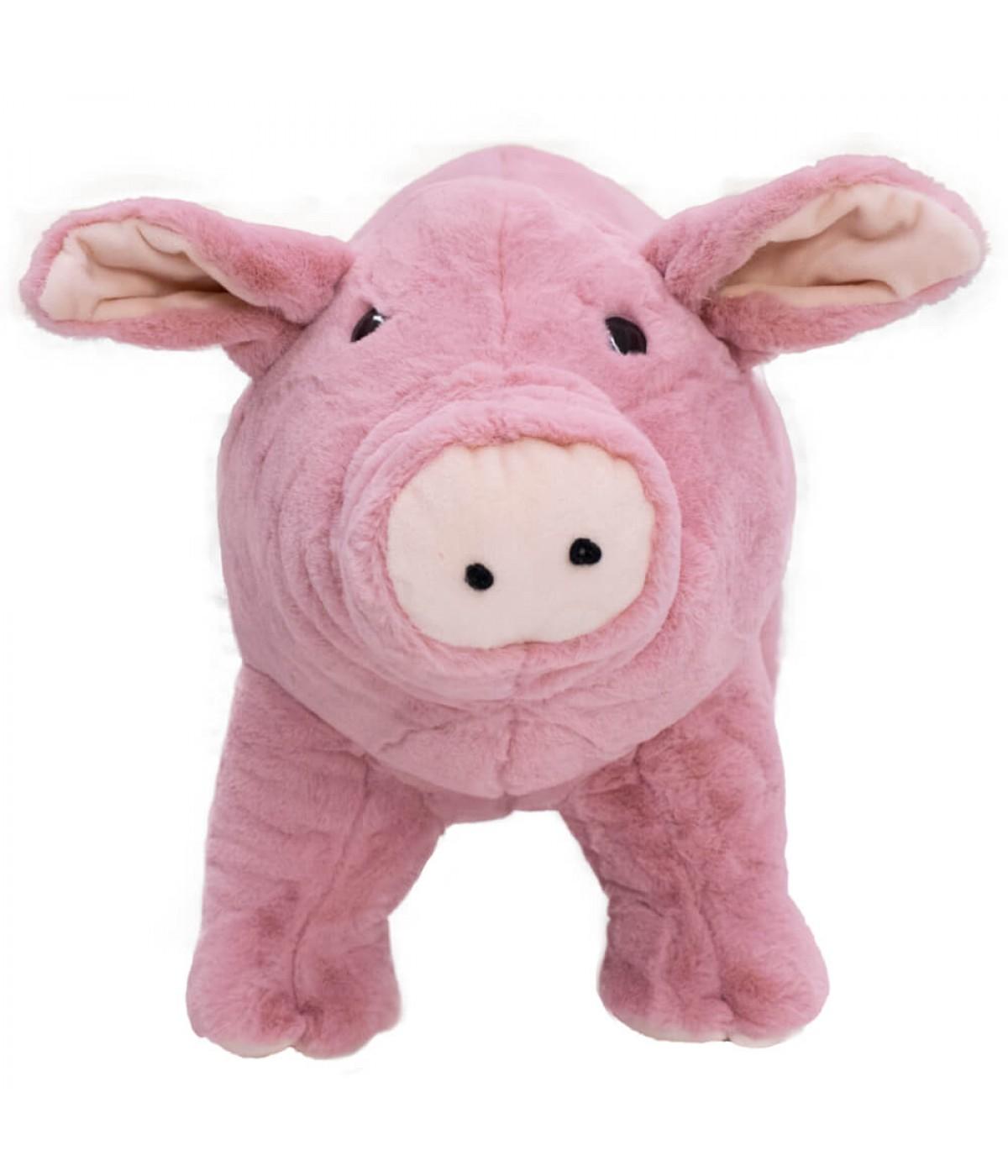 Porco Lilás Levantado 33cm - Pelúcia