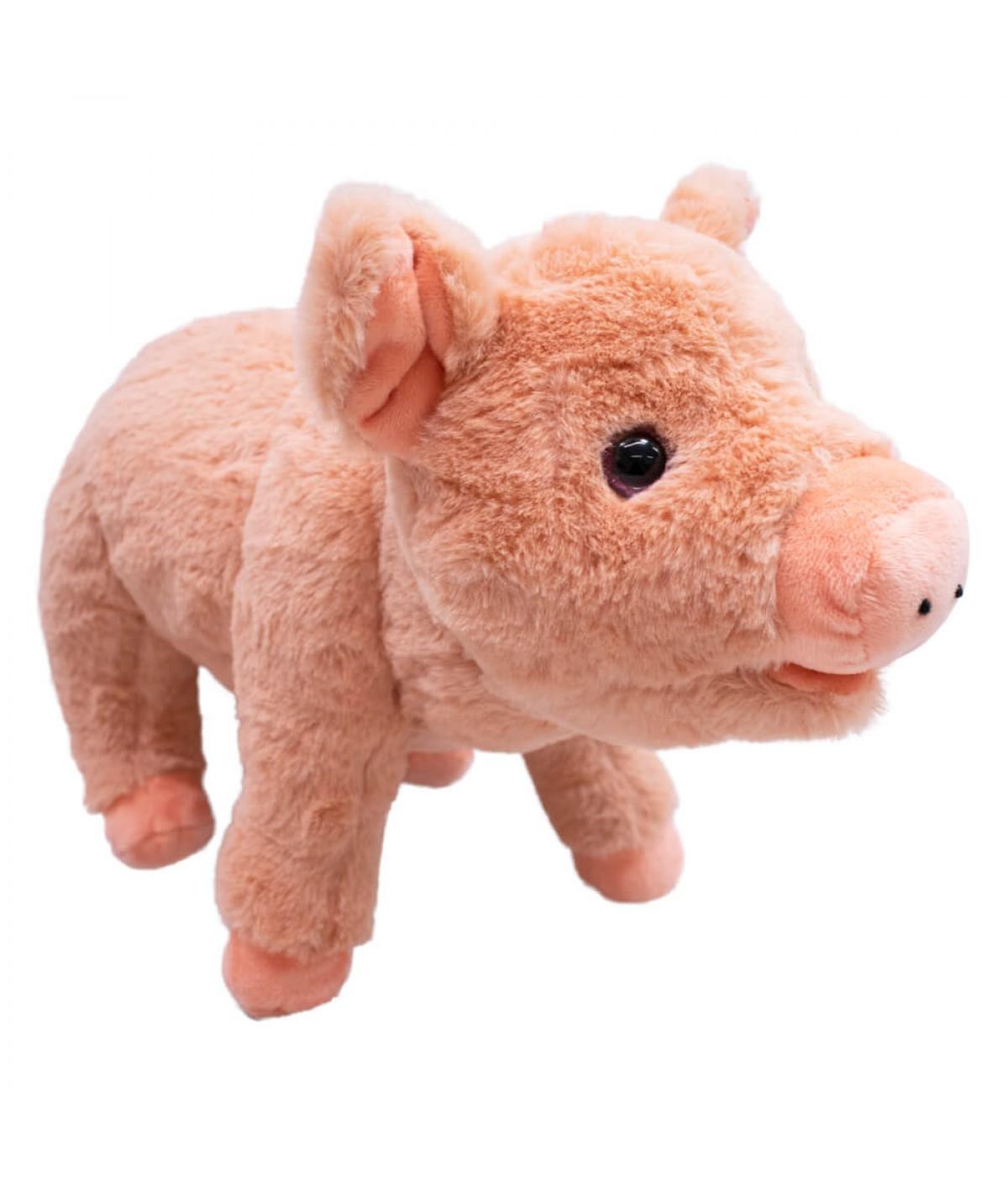 Porco Em Pé 24cm - Pelúcia