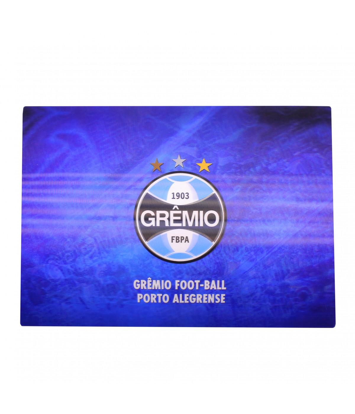 JOGO AMERICANO 3D 4 PEÇAS - GRÊMIO