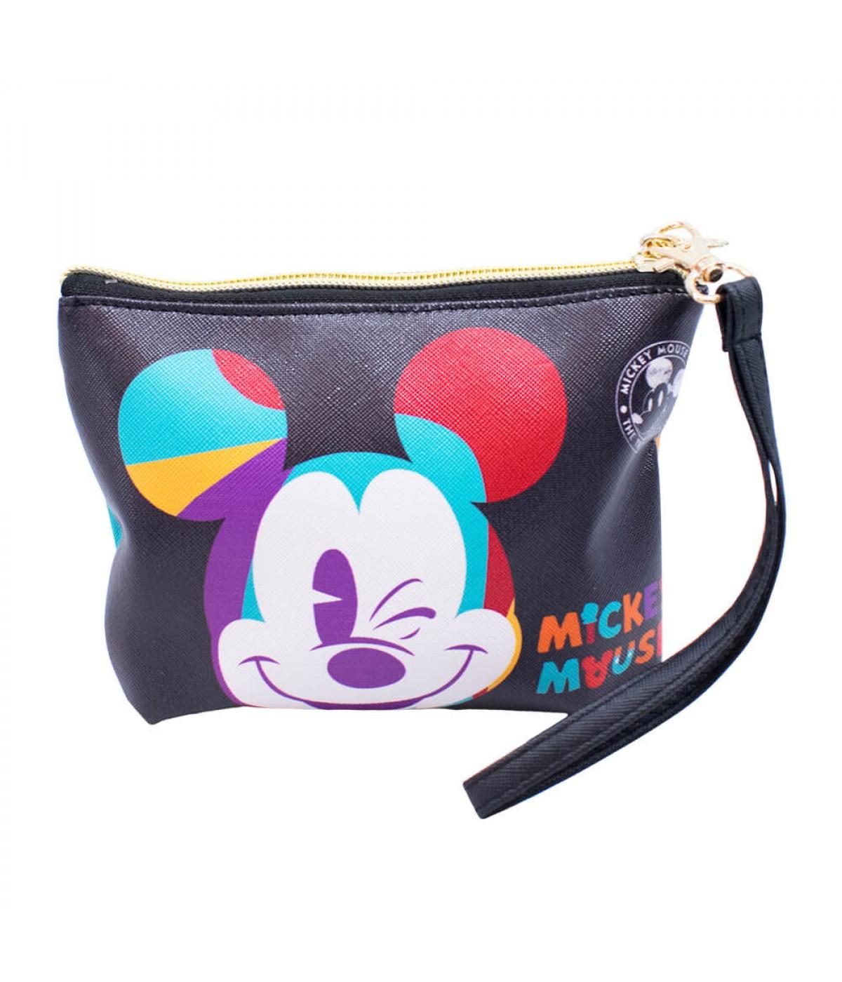 caa05257c Necessaire Mickey Piscando 15x4x17cm 90 Anos - Disney   DMG9040W ...