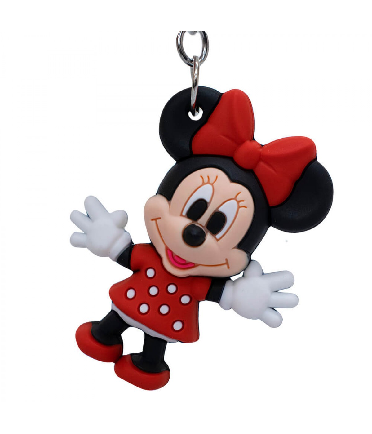 Chaveiro Formato Minnie Mouse 6cm - Disney