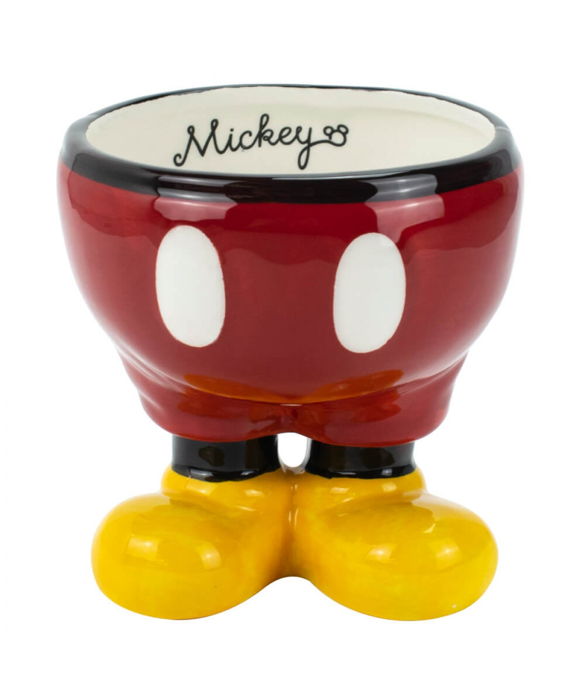Vaso Porcelana Porta Objeto Corpo Mickey 12cm - Disney